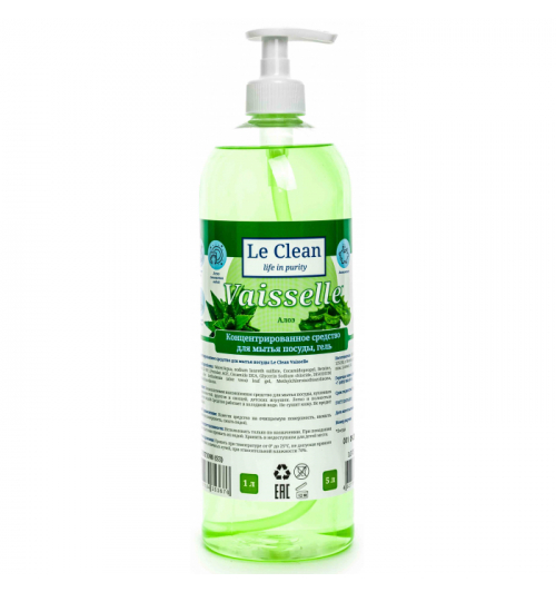 Le Clean Vaisselle Алоэ 1000мл