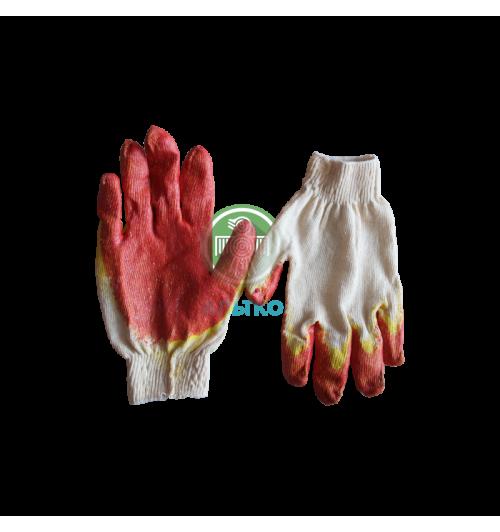 Перчатки ХБ с двойным обливом ЭКОНОМ